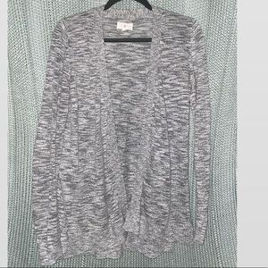 NWOT Women's Loft Lou & Grey Cardigan Gray S